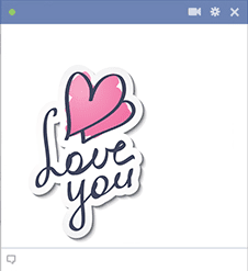 Love You Image for Facebook