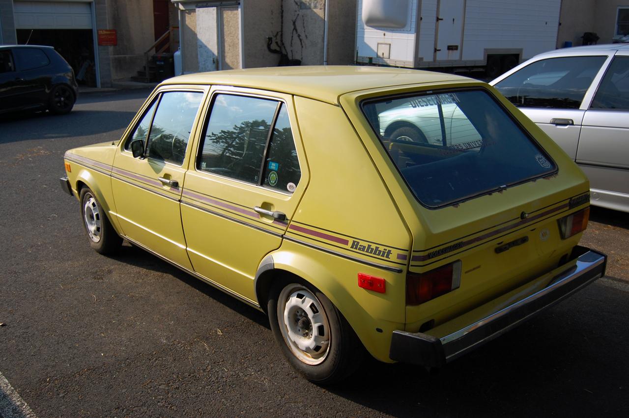 BC Automotive Detailing: Yellow VW Rabbit