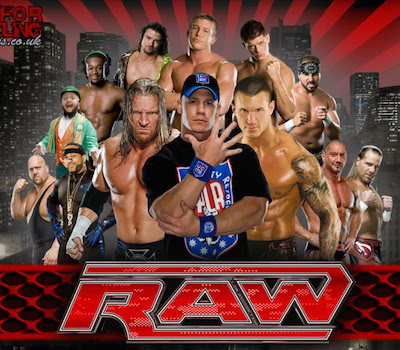 WWE Monday Night Raw 11 Jan 2016