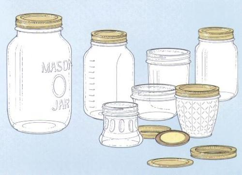 Pepper Stitches 25 Things To Do With A Glass Jar