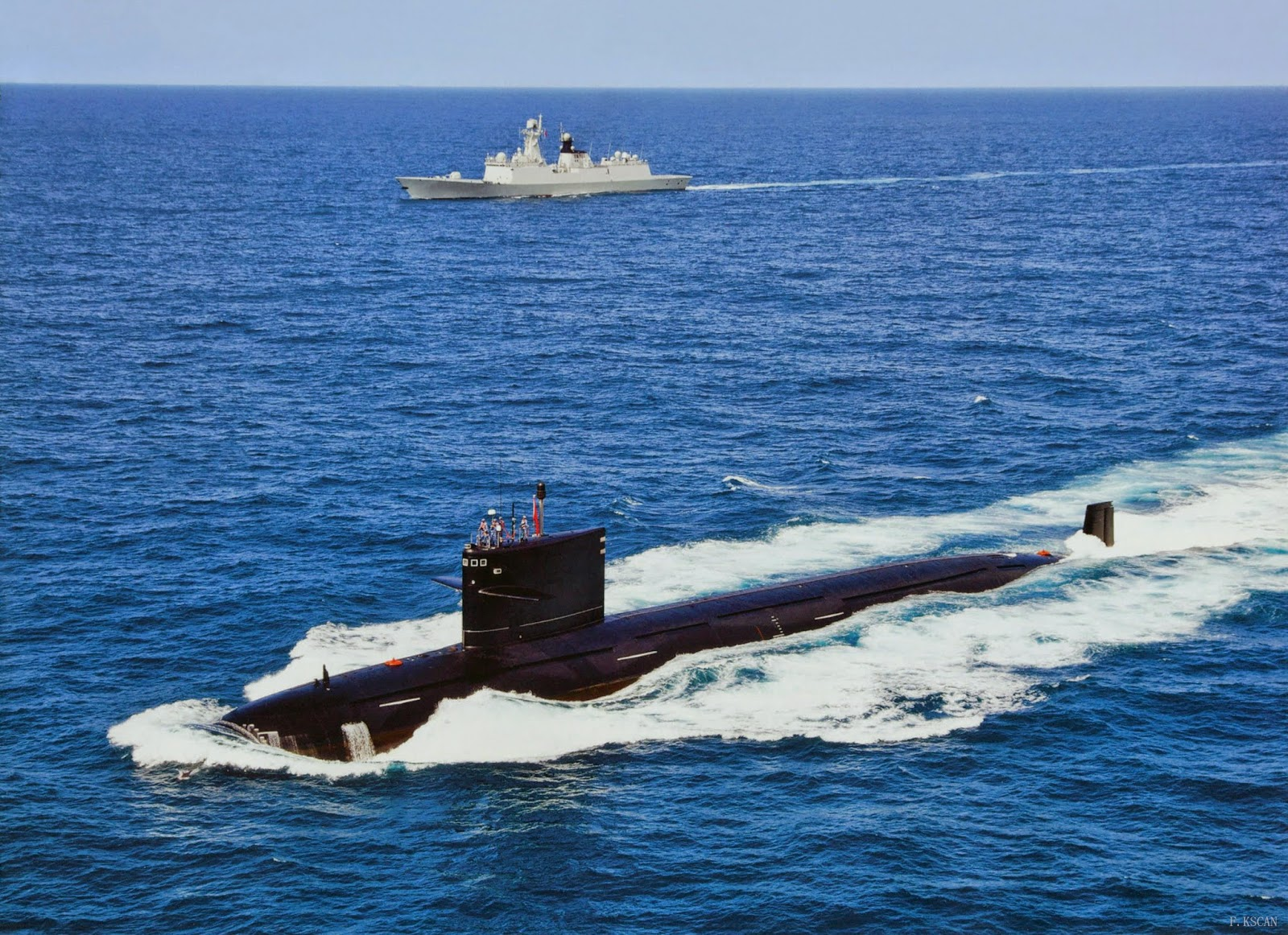 Chinese Type 093 Shang Class Nuclear-Powered Attack
