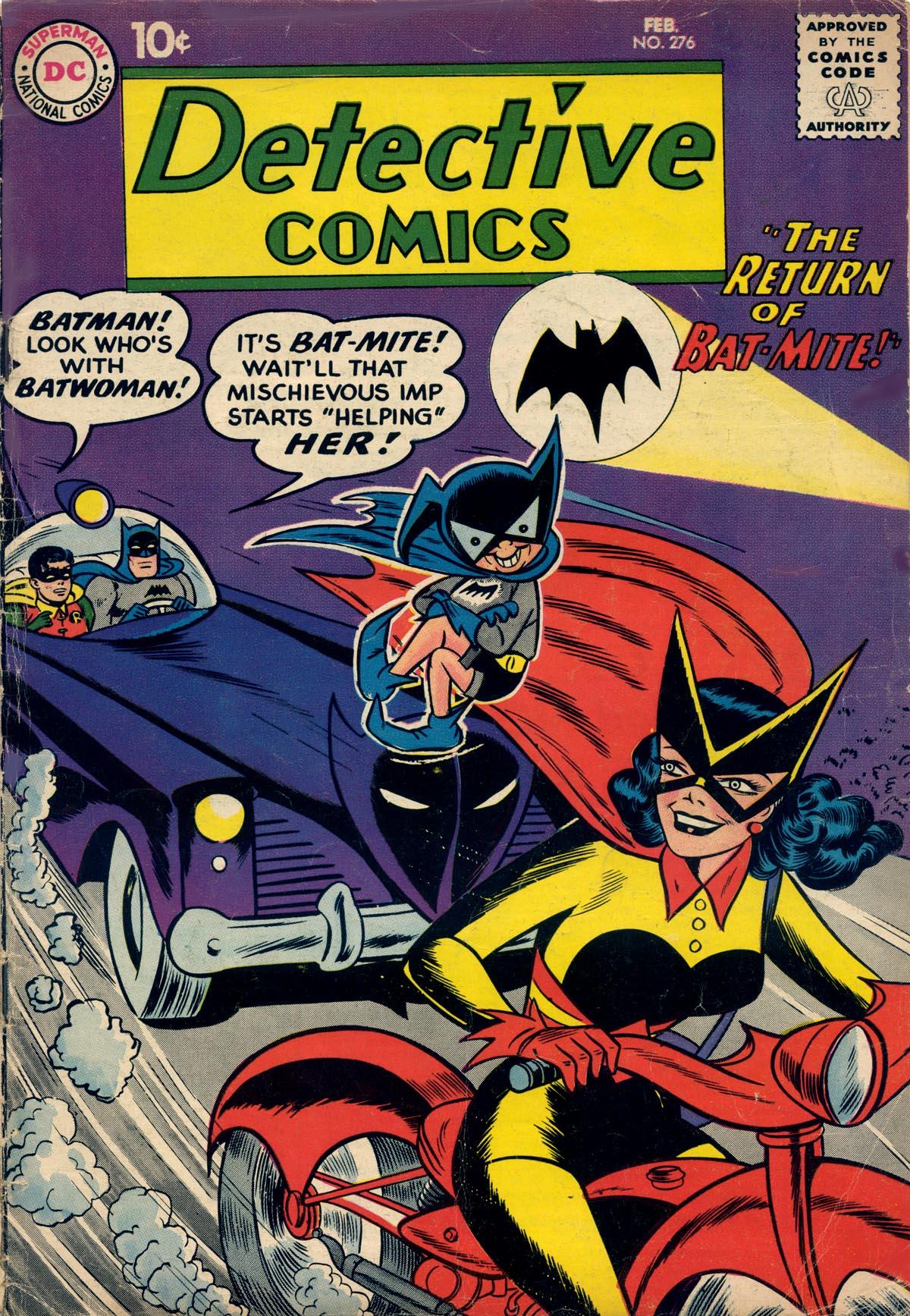 Detective Comics (1937) 276 Page 1