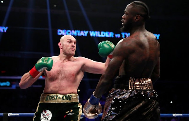 Deontay Wilder Vs Tyson Fury Via Ended With A Majority Draw