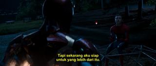Screenshots Iron Man and Spiderman has diskusi Spider-man Homecoming (2017) BluRay 480p Subtitle Bahasa Indonesia MP4 3gp