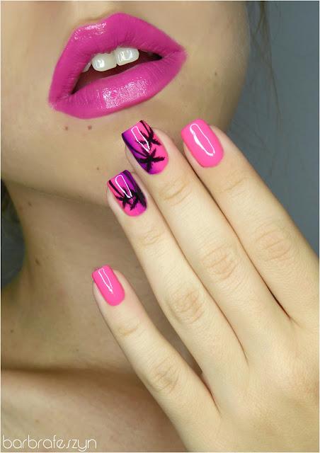 paznokcie w palmy
