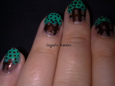 ice-cream-nails-nail-art-mint-choc-chip