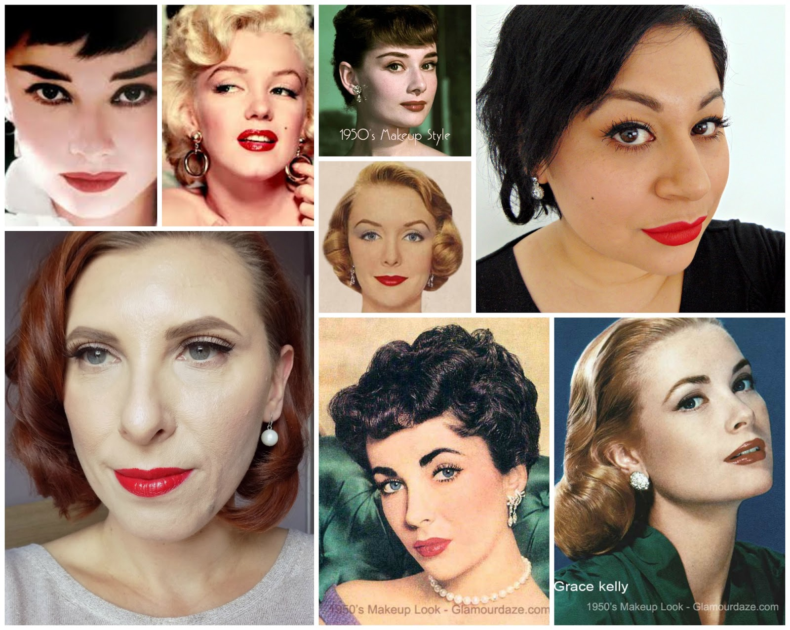 Makeup through the decades #4 1950s, collaboration with ...