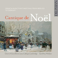 Cantique de Noel - Choir of Gonville & Caius College, Cambridge - Delphian