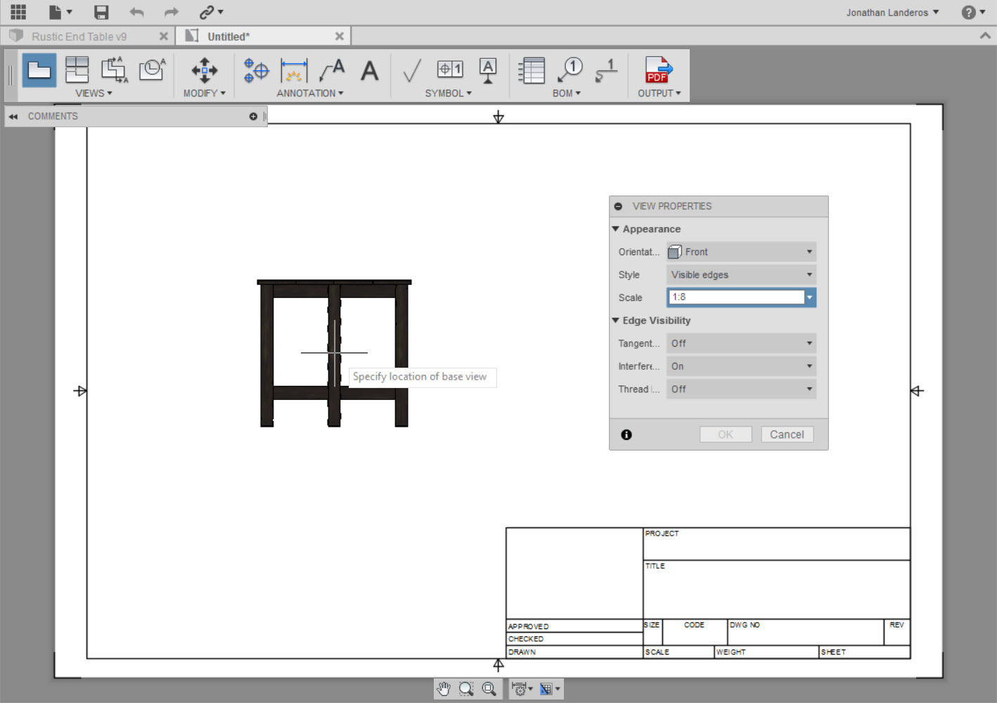 Fusion 360 - Learning to Create Drawings  ~ Inventor Tales