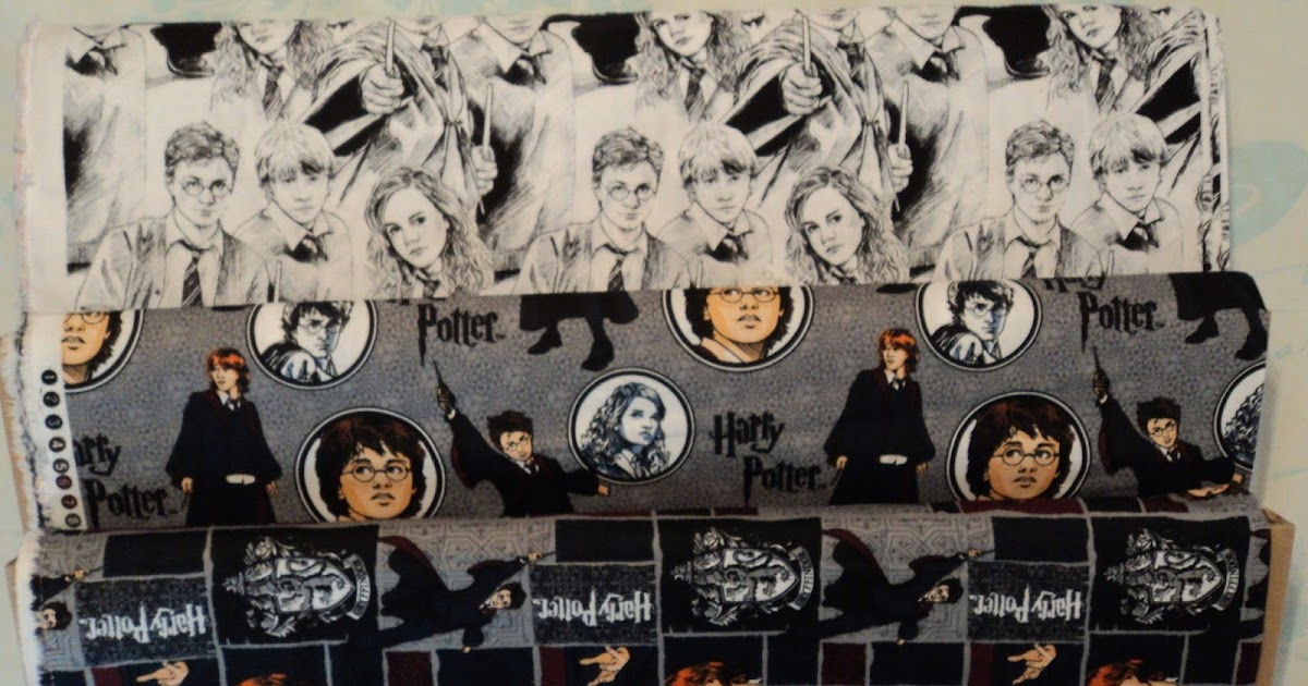Sally S Quilts Harry Potter Fabric By Clothworks 2016