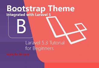 Adding Bootstrap Theme to Laravel 5.3