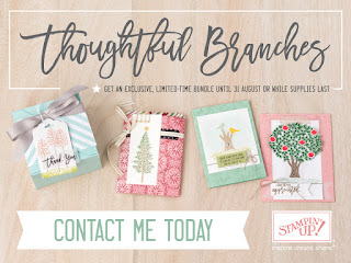 Stampin' Up! Susan Simpson Independent Stampin' Up! Demonstrator, Craftyduckydoodah!, August 2016 Update, Supplies available 24/7, Thoughtful Branches,