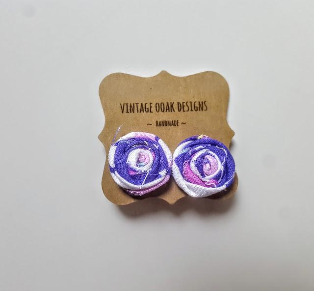 vintage ooak designs earrings