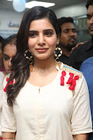 Samantha Ruth Prabhu Smiling Beauty in White Dress Launches VCare Clinic 15 June 2017 046.JPG