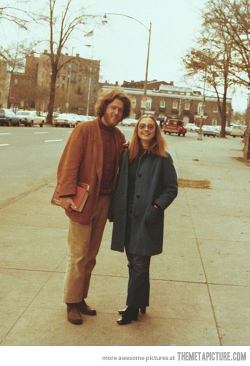 one day he would become president and she would become secretary of state