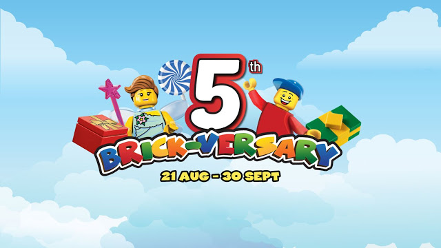 Aktiviti Menarik Sempena 5th Brick-versary Legoland Malaysia