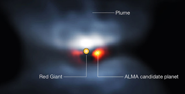 Composite view of L2 Puppis in visible light | © P. Kervella et al. (CNRS/U. de Chile/Observatoire de Paris/LESIA/ESO/ALMA)