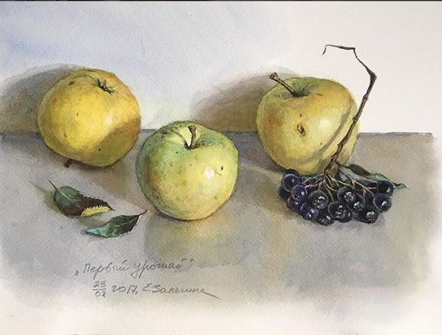 Liza Legina Watercolour