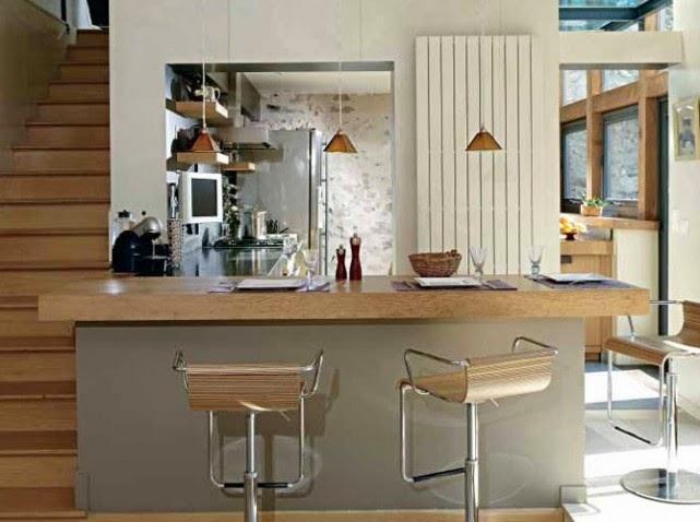 Fotos de cocinas americanas colores en casa - Passe plat cuisine americaine ...