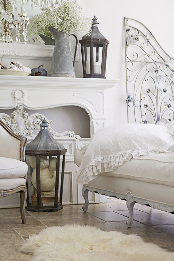 white french shabby chic home