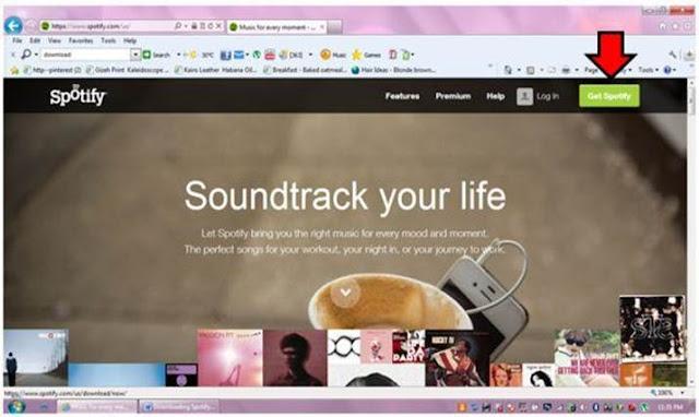 Cara Buat Akun Spotify PC