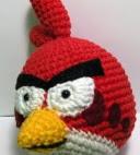 PATRON ANGRY BIRD ROJO AMIGURUMI 2191
