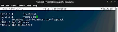 Cara Mengganti Nama Hostname di Linux