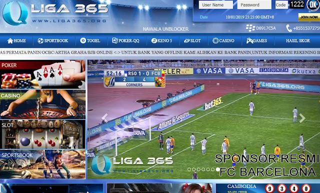 Situs Judi Bola Resmi Terbesar Sponsor Resmi Barcelona