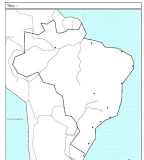 Fond De Carte Bresil Eduscol.Reussir Le Croquis De Geographie Au Bac En 5 Grandes Etapes Bresil