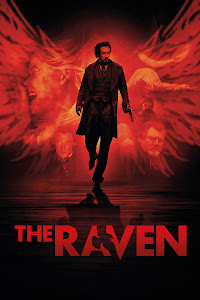 Poster Of The Raven (2012) In Hindi English Dual Audio 300MB Compressed Small Size Pc Movie Free Download Only At worldfree4u.com