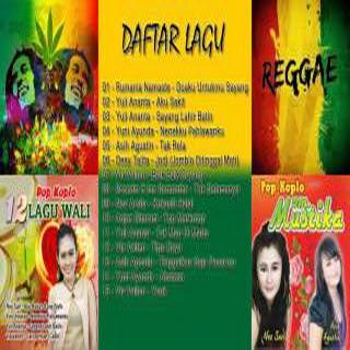 Download Koleksi Lagu Dangdut Koplo Reggae 2017