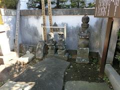 北条政・氏照の墓
