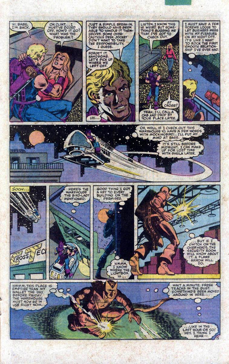 Hawkeye (1983) Issue #1 #1 - English 16