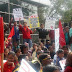 केवाईएस ने दिल्ली  सरकार  की घटिया और भेदभावपूर्ण शिक्षा नीति के खिलाफ किया प्रदर्शन