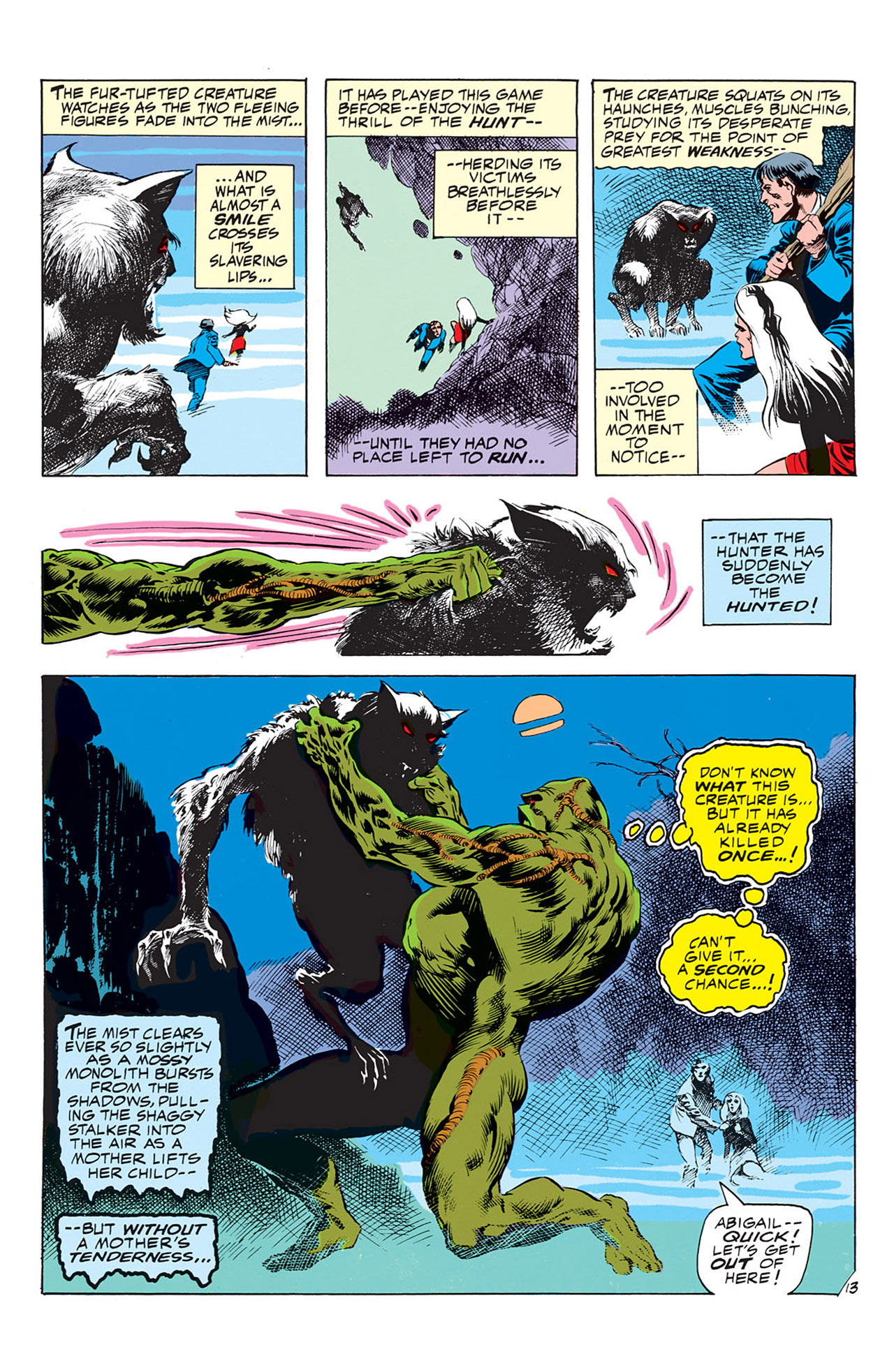 Swamp Thing (1972) Issue #4 #4 - English 14
