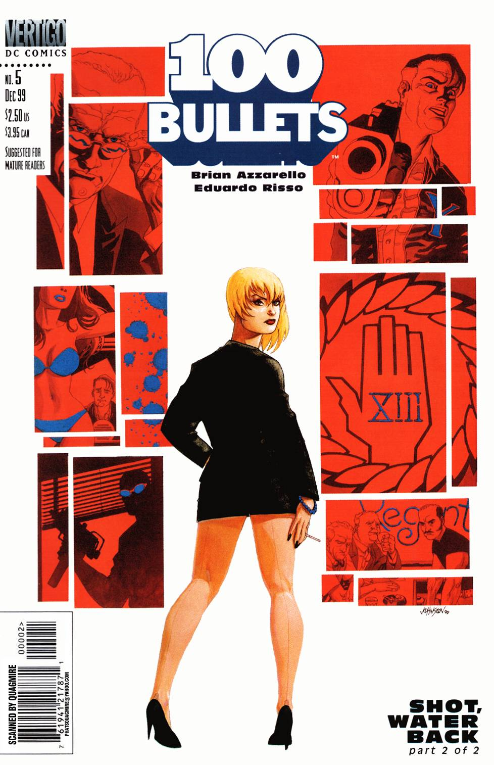 Read online 100 Bullets comic -  Issue #5 - 2