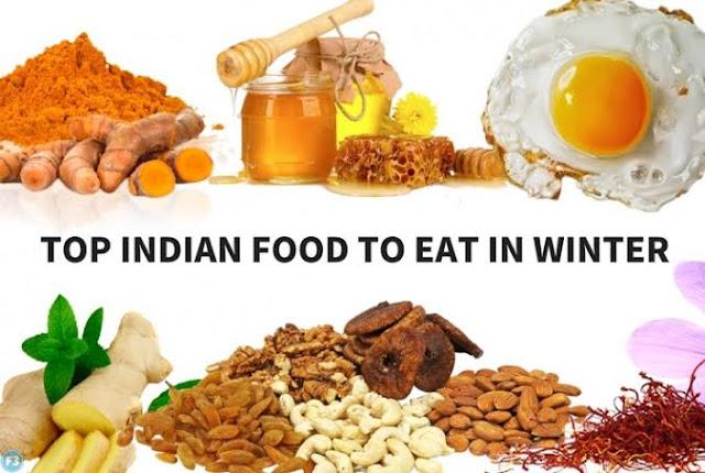 सर्दियों में शरीर को गरम रखने के लिए खाद्य पदार्थ Winter foods
