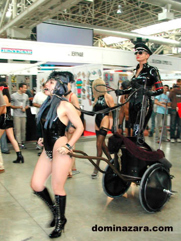 Dómina Zara, la reina del BDSM en España