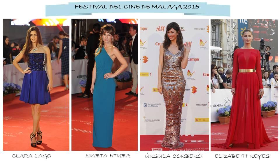 vestidos festival cine málaga 2015