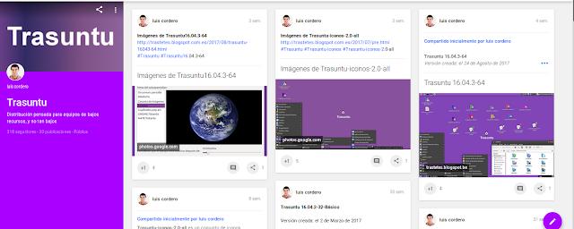 Colección de Trasuntu en Google+