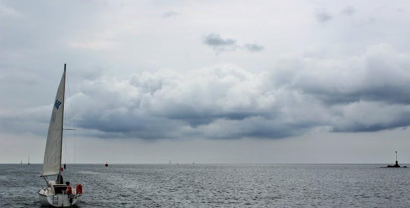 Wyprawa statkiem #1 / La virée en bateau #1 (Sainte Marine)