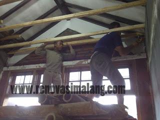 Jasa Renoovasi Malang menyediakan jasa perbaikan atap bangunan dengan biaya murah