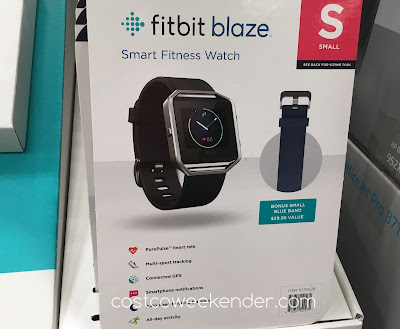 Tell time and get fit with the Fitbit Blaze Smart Fitness Activity Watch