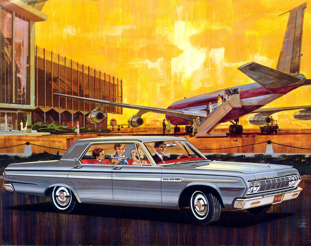 1964 Plymouth Fury   Vintage Cars Ads 1964 Plymouth Fury 2 Door Hardtop