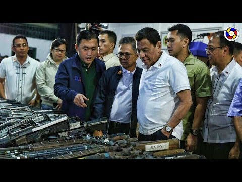 DUTERTE LATEST NEWS SEPTEMBER 20, 2019 | DUMALO SA PAG-DECOMMISION NG MGA ARMAS SA CAPIZ