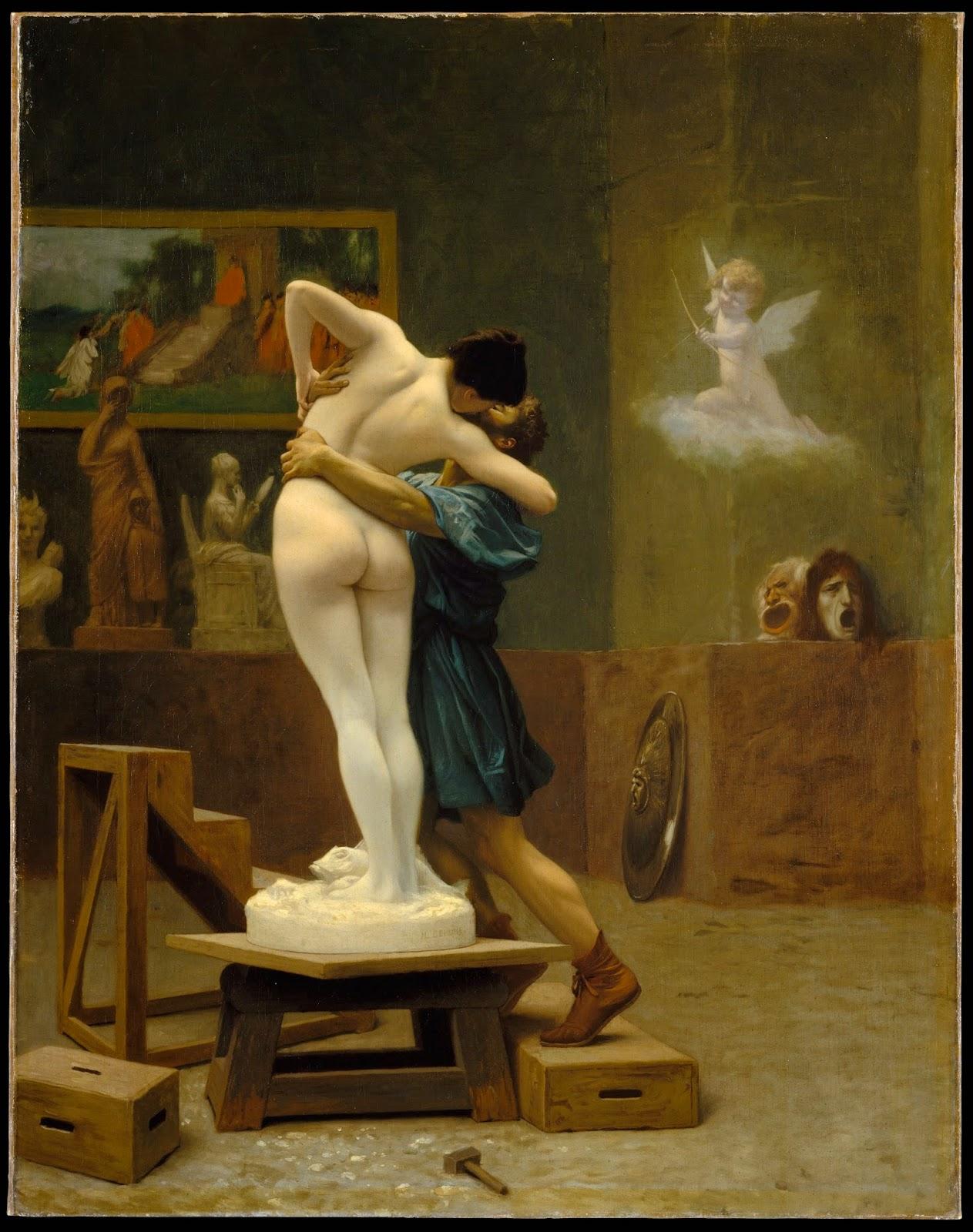 Pygmalion et Galatée, de Jean-Léon Gérôme (1890)