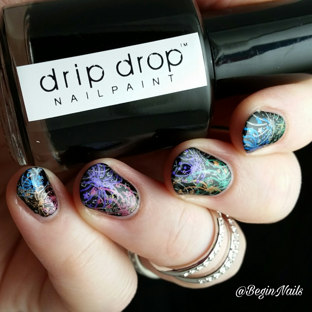 Let\'s Begin Nails: Rainbow Celebration of New Years