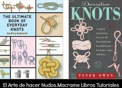 El Arte de hacer Nudos Macrame Libros