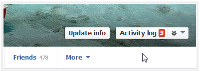 How to Clear Activity Log on Facebook
