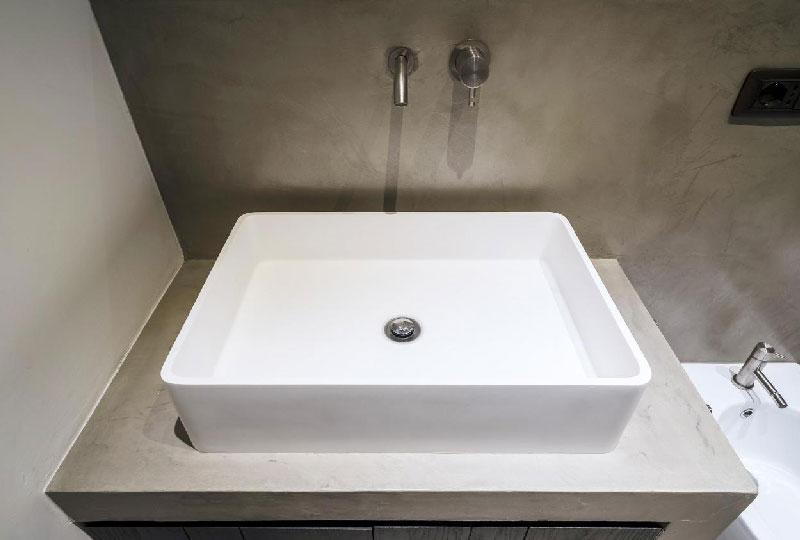 bagno finitura cemento